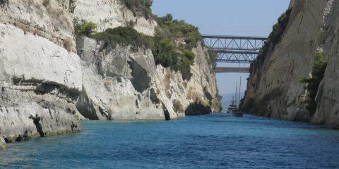 Traversée du Canal de Corinthe