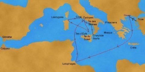 Le voyage d'Ulysse en Sicile