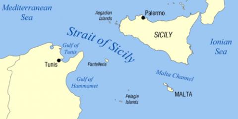 Canal de Sicile