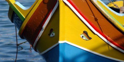 Bateau traditionnel Maltais : le luzzu