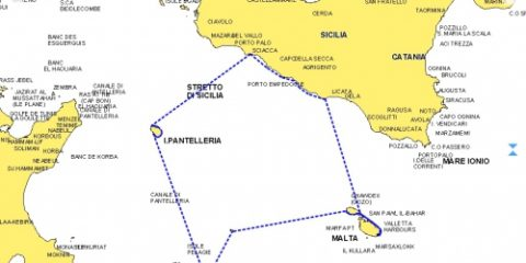 Mer de  Sicile 2015